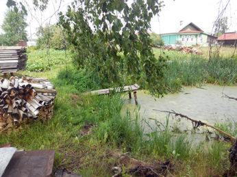 10 июля в п. Лух на улице Первомайская произошло возгорание жилого дома.