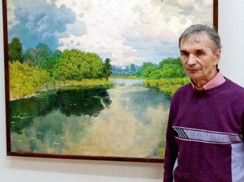 В Большом выставочном зале Дома художника 1 ноября состоялось мероприятие, посвященное открытию персональной юбилейной выставки нашего земляка, члена Союза художников России Бориса Ботоногова, приуроченной к 70-летию живописца.