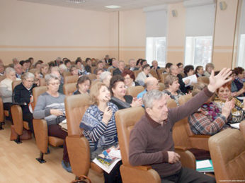 Представители Лухского районного Совета ветеранов приняли участие в итоговом совещании в ОБУЗ «Ивановский областной госпиталь для ветеранов войн».